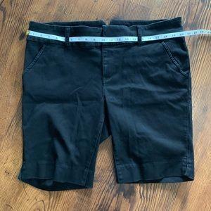 Torrid Black Bermuda Shorts